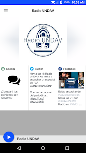 Radio UNDAV- screenshot thumbnail