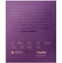 Yupo Heavy Pads 11X14 10 Sheets/Pkg - White 390gsm