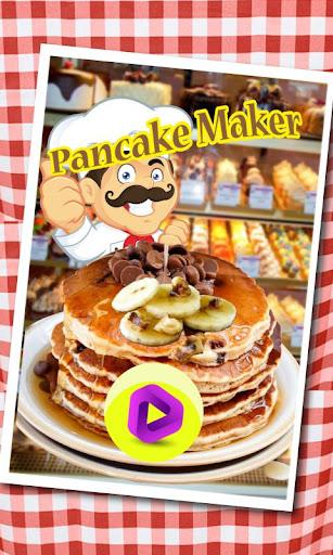 Pancake maker kids bake shop