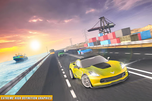 Drive in Car on Highway : Racing games 2.2 Screenshots 4