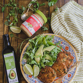 Grain-Free Chipotle Lime Salmon Cakes
