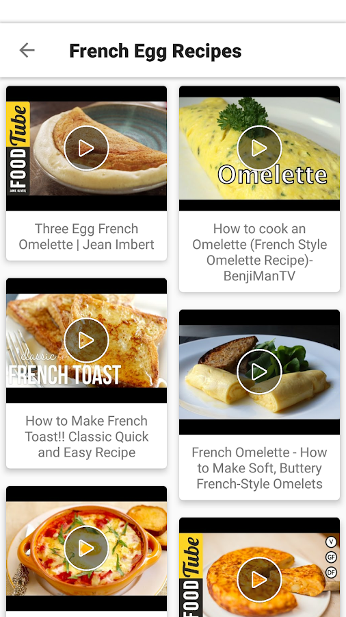 French food recipes videos easy best healthy android apps on french food recipes videos easy best healthy screenshot forumfinder Images