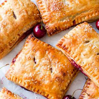 Simple Cherry Pastry Pies.