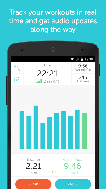 Runkeeper - GPS Track Run Walk screenshot #2