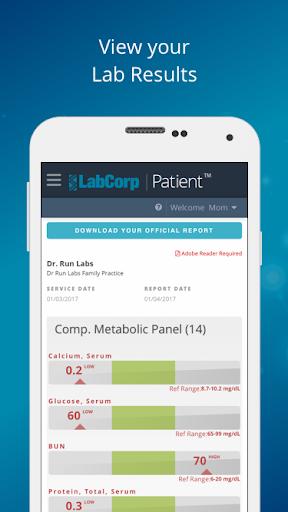LabCorp | Patient 1.0.0 screenshots 1
