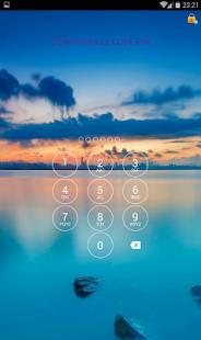 Lock App - náhled