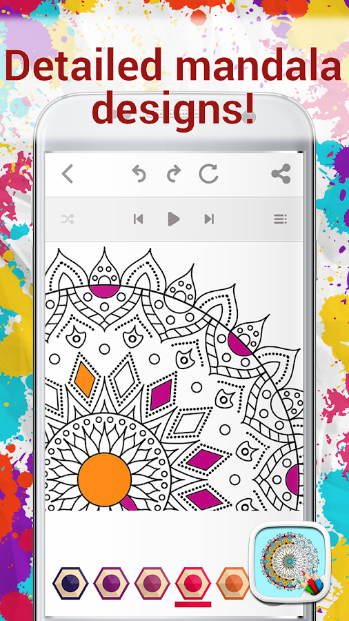Coloring Pages Mandala Art