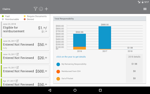 My Benefits Accounts - Android Apps on Google Play