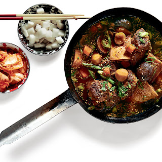 Korean-Style Braised-Short-Rib Stew