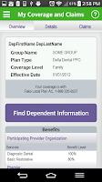 Screenshot of Delta Dental