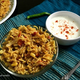One-Pot Tomato Pulao