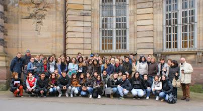 Photo: 58 alumnes (amb nosaltres) de Polònia, Eslovàquia, Alemanya, França i Itàlia.