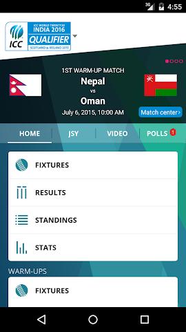 Screenshot 1 ICC World T20 Qualifier 2015