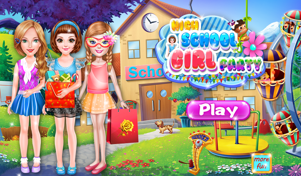High School Girls Party- screenshot