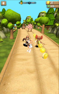 Lonney Tunes :  Lola Bunny Jungle Dash Run 3D - náhled