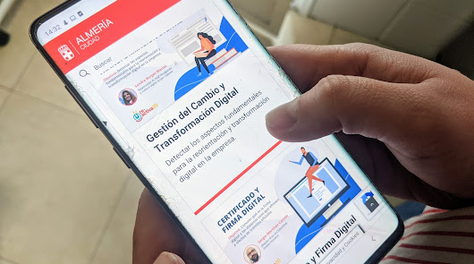 Catorce talleres para digitalizar los negocios almerienses ante la 'crisis'