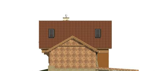 Abigail II z garażem 2-st. A1 - Elewacja lewa