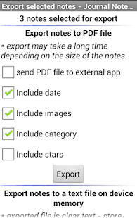Journal Notes Multimedia- screenshot thumbnail