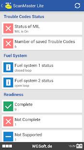 App ScanMaster for ELM327 OBD-2 ScanTool APK for Windows Phone