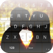 Romantic keyboard Theme