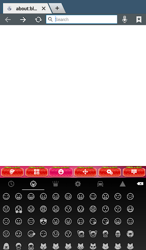 玩個人化App 草莓键盘主题免費 APP試玩
