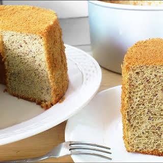 BANANA CHIFFON CAKE (香蕉戚风蛋糕).