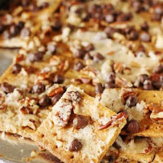 Graham Cracker Pralines {aka ~ Praline Cracker Candy} (Printable recipe).