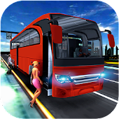 City Coach Bus Simulator 17 - Real Parking Test 3D