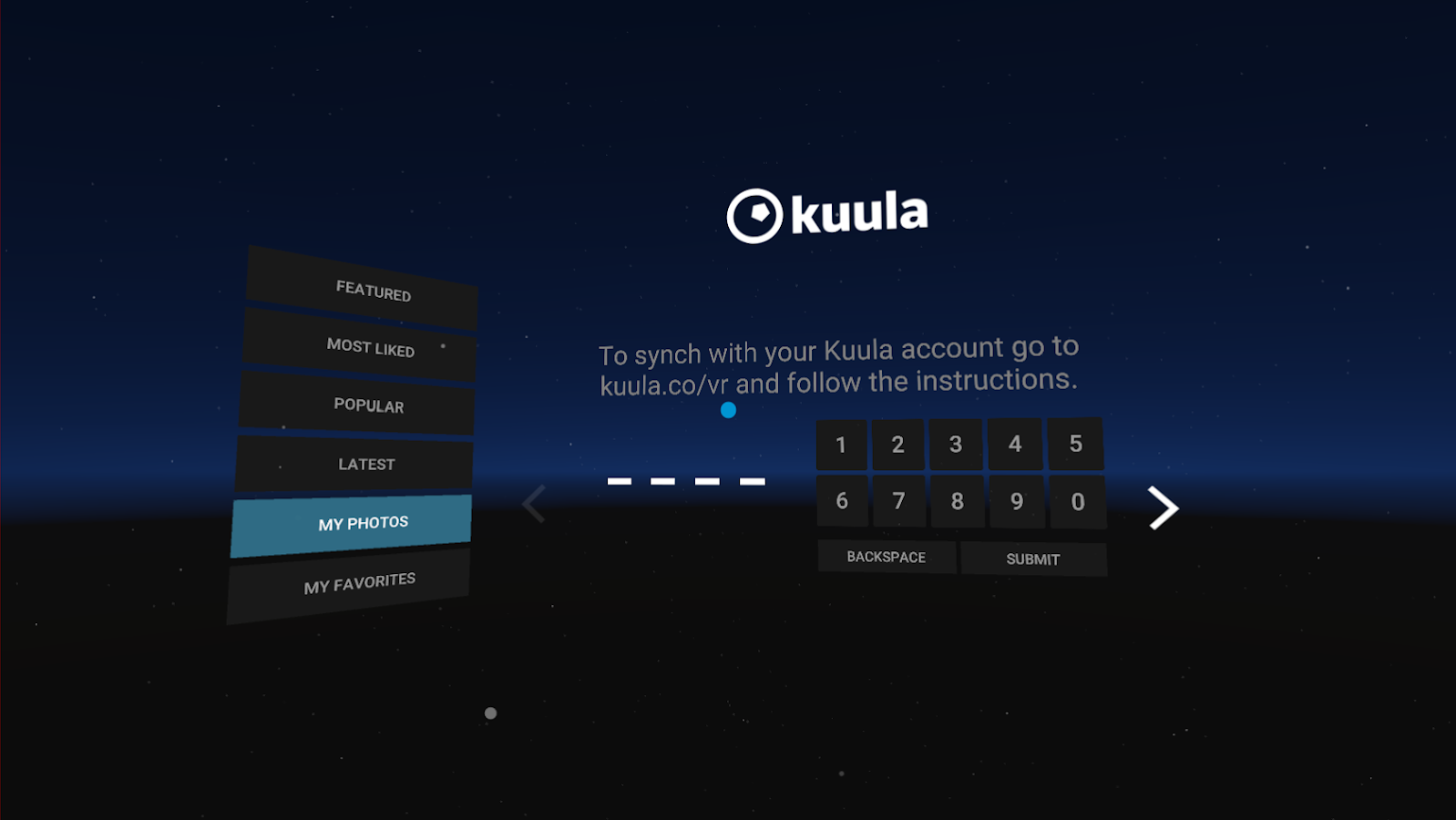 Kuula VR- screenshot
