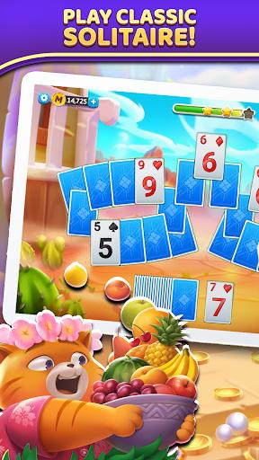 Puzzle Solitaire - Tripeaks Escape with Friends apkbreak screenshots 1