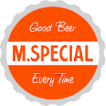 Logo for M.Special Brewing Company