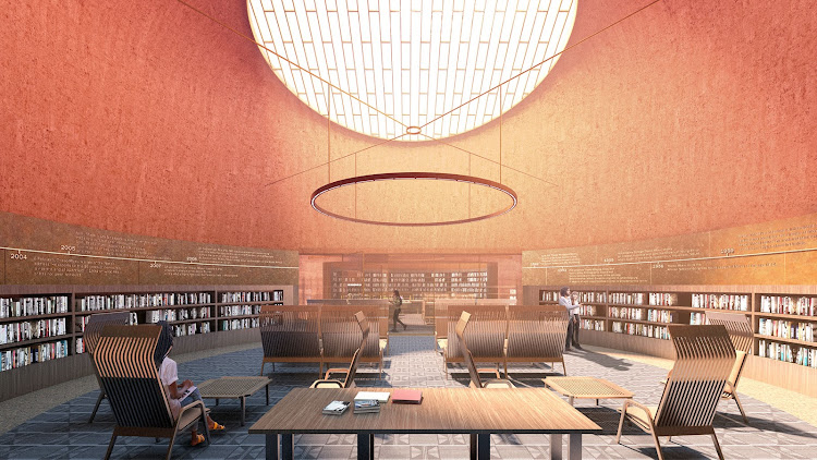 Design of the reading room.