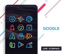 LineX Icon Packのおすすめ画像3