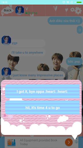 BTS Messenger - Chat with BTS 13.69 screenshots 1