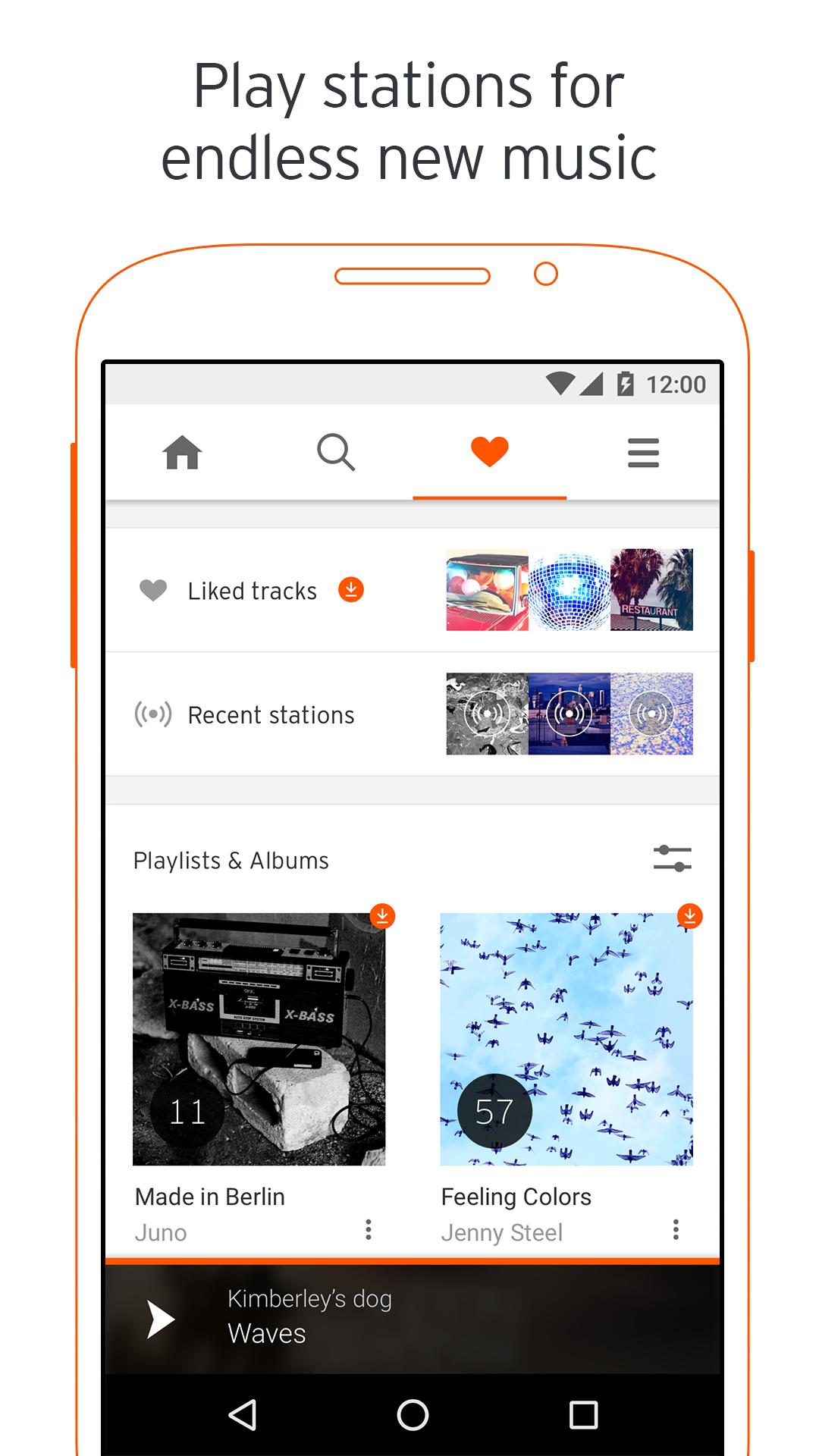 SoundCloud - Music & Audio screenshot #1