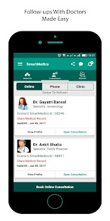 SmartMedics For Individuals: Doctor Follow-ups - náhled