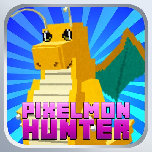 模擬App|ハンターMCゴーポケット Pixelmon! LOGO-3C達人阿輝的APP
