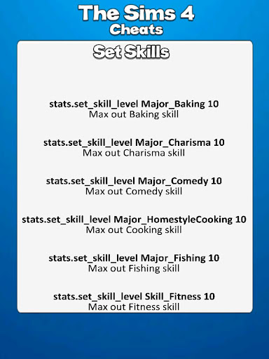 All <b>Sims 4 Cheat Codes</b> APK download | APKPure.co