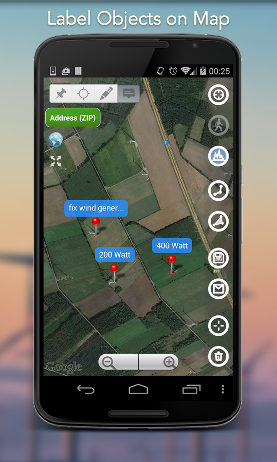 Planimeter - GPS area measure screenshot #11