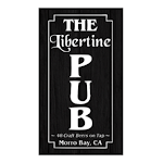 Logo of Libertine Pub Pacific Ocean Blue