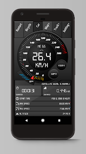 Digital Dashboard GPS Screenshot
