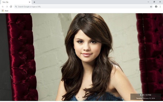 Selena Gomez New Tab & Wallpapers Collection