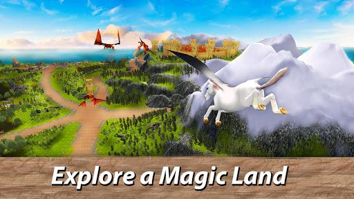 ud83eudd84ud83cudf08u2764ufe0f Pegasus Simulator: Flying ud83dudc0e Horse Survival 1.1 screenshots 11