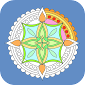 Mandala Relaxing Coloring Book