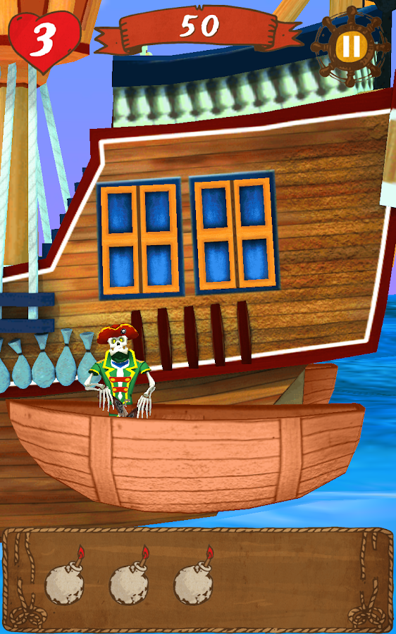 Top Shootout: The Pirate Ship- screenshot