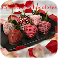 Valentine's chocolates icon