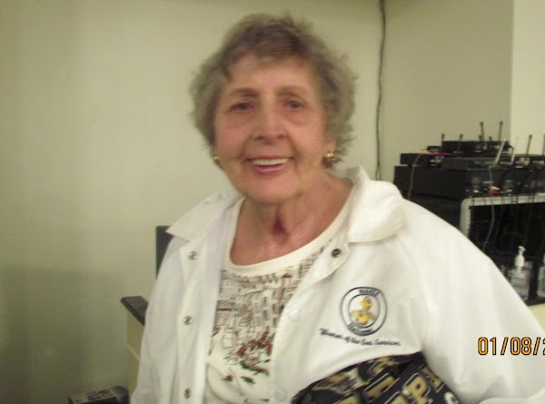 This is a picture of Jeanne Raby who shared this recipe with me. 1/12/14