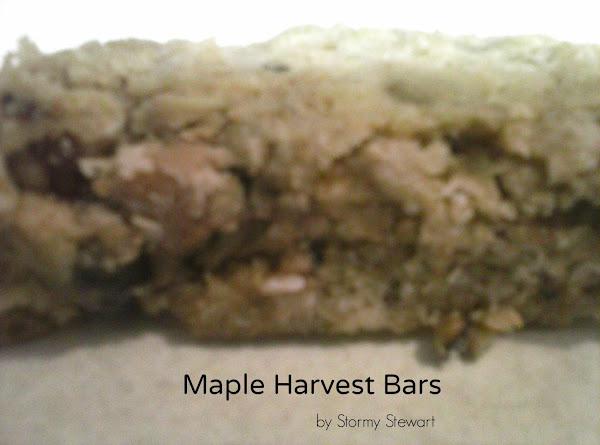 Maple Harvest Bars Recipe