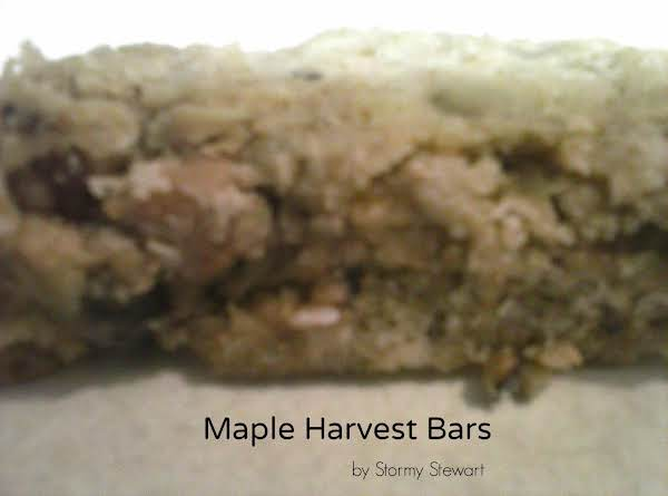 Maple Harvest Bars Recipe