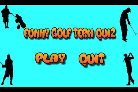 Fun Golf Quiz - náhled
